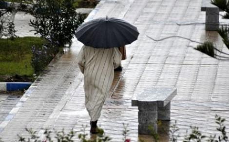 مديرية الارصاد الجوية تتوقع امطار وعواصف رعدية بجهة الريف