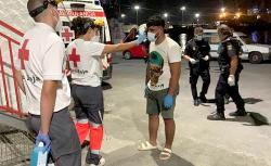 """ثلاث مهاجرين من الريف يصلون الى اسبانيا على متن الـ""""جيتسكي"""""""