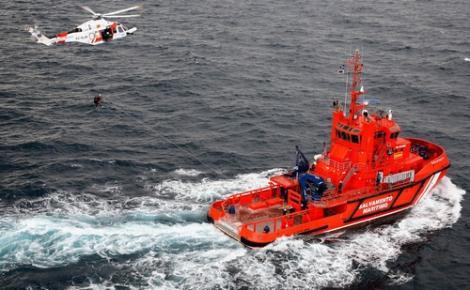البحث عن قارب للمهاجرين السريين ابحر من سواحل الحسيمة