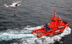 """سوء الاحوال الجوية يعيق انقاذ مهاجرين بجزر """"اشفارن"""" قرب الناظور"""