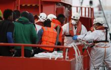 اسبانيا تتدخل لانقاذ 57 مهاجرا سريا غرق قاربهم قبالة سواحل الريف
