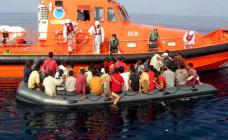 انقاذ 22 مهاجرا ينحدرون من الريف في بحر البوران