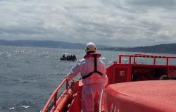 إنقاذ 6 مهاجرين من الحسيمة بعد أكثر من 48 ساعة من البحث (صورة)