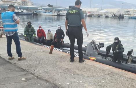 البحرية الاسبانية تنقذ 4 مهاجرين ينحدرون من الريف