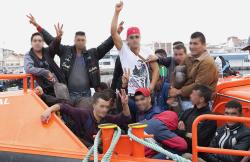 اسبانيا تسجل انخفاضا في عدد المهاجرين السريين خلال هذه السنة