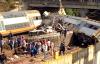 عشرات القتلى والجرحى في انقلاب قطار ببوقنادل (فيديو)
