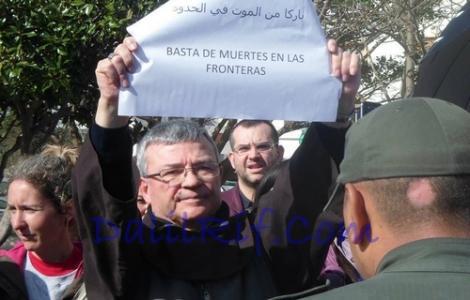 """السلطات الامنية تمنع """"مبشر"""" إسباني من دخول الناظور"""