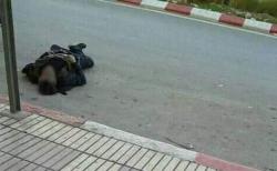 جزائري يلقي بنفسه من اعلى بناية في مدينة الحسيمة