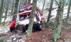 حادثة سير خطيرة بسبب تراكم الجليد على الطريق الرابط بين الحسيمة وشفشاون