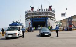 ميناء الحسيمة يستقبل باخرة للمسافرين قادمة من فرنسا