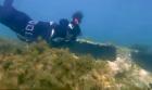 الحسيمة..اكتشاف بقايا باخرة في اعماق شاطئ كيمادو