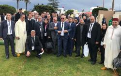 فعاليات سياسية ومدنية باقليم الحسيمة حاضرة في استقبال البابا