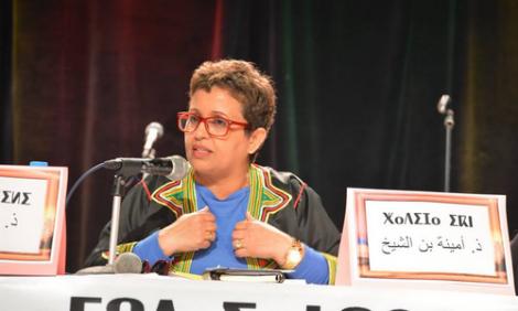 امينة بن الشيخ: الإسلاميون عرقلوا تنزيل الأمازيغية