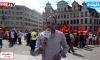 روبورتاج .. وقفة تضامنية بالاعلام المغربية في بروكسيل
