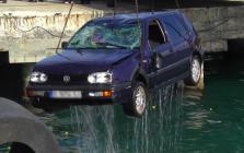 وفاة مهاجر مغربي سقط بسيارته من باخرة بميناء سبتة (فيديو)