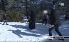 الثلوج تكسو شقران
