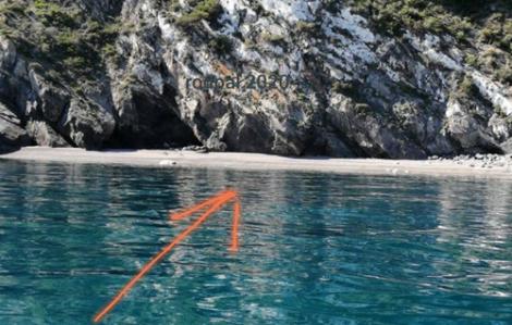 ظهور شاطئ رملي جديد في المنتزه الوطني للحسيمة