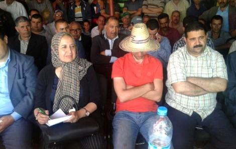 """مديرة تحول رئيسة جهة طنجة تطوان الحسيمة إلى """"شبح"""""""