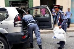 إطلاق الرصاص بميناء الناظور لإيقاف مهربين للمخدرات