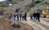عامل إقليم الحسيمة يتفقد اشغال فك العزلة عن المناطق الجبلية
