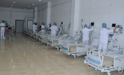 مستشفى القرب بإمزورن يتعزز بمعدات طبية جديدة واسرة للانعاش
