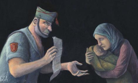 سيدة من الناظور تبيع ابنها لجندي اسباني والقضاء يدخل على الخط