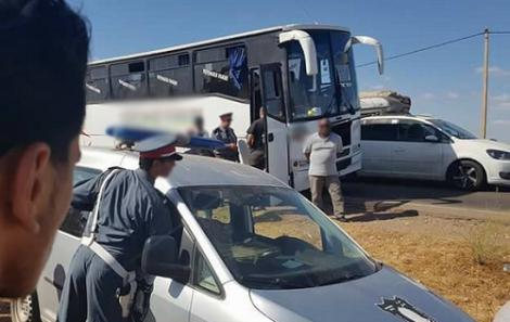 الدرك يضبط حشيش على متن حافلة انطلقت من الحسيمة