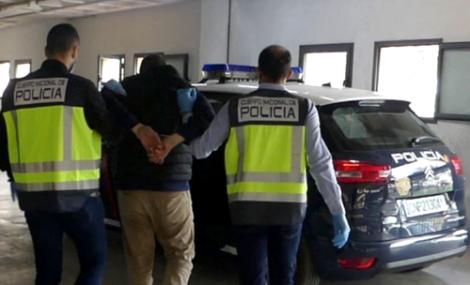 اسبانيا.. اعتقال مغربي مبحوث عنه في محاولة تصفية رميا بالرصاص