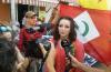 نشطاء الحراك الشعبي بالناظور يحتجون ضد اسبانيا دعما لكاتالونيا
