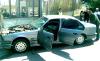"""سيارة """"انتحارية"""" تقتحم معبر فرخانة بين الناظور ومليلية (فيديو)"""