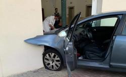شخص يحاول اقتحام بسيارته مسجد في شرق فرنسا