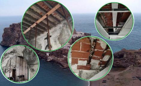الجيش الاسباني يقوم بأعمال بناء بالصخور المحتلة القريبة من الحسيمة