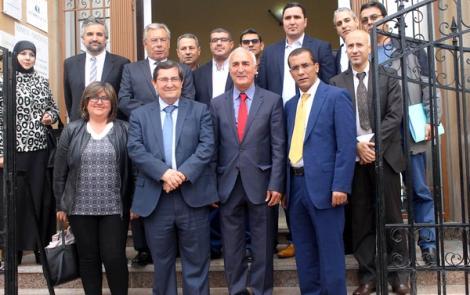 وفد من حكومة غرناطة يزور الناظور لتعزيز التعاون الاقتصادي