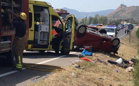 مصرع مهاجر مغربي واصابة اثنين اخرين في حادثة سير خطيرة بكاتالونيا