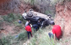الدريوش.. سقوط سيارة في منحدر جبلي يخلف اربعة مصابين
