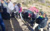 سيارة تهوي في منحدر خطير نواحي الحسيمة