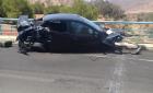 حادثة سير خطيرة تحول سيارة الى كومة من الحديد نواحي الحسيمة