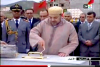 الملك يدشن الحي الجامعي بمدينة سلوان