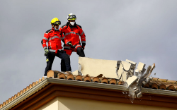 اسبانيا .. زلزال يضرب في غرناطة ويخلف اضرارا في المباني (فيديو)