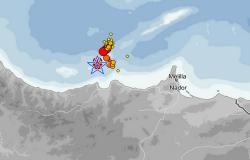 هزة أرضية بقوة 5,3 درجات تضرب عرض سواحل الريف