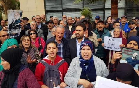 """حقوقيون يحتجون ضد وضع معتقلي حراك الريف في """"الكاشو"""""""