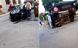 اصابات في اصطدام سيارتين وسط مدينة الحسيمة (صور)