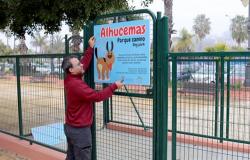 هذه حقيقة تسمية حديقة للكلاب باسم الحسيمة في مدينة اسبانية