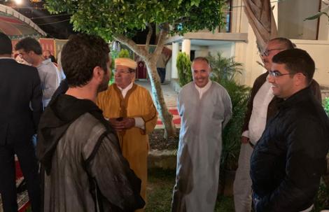 الملياردير الريفي احمد الادريسي يجمع معارضي بنشماش بمدينة طنجة