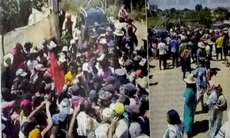 تفويت اراضي سلالية للحموتي نواحي القنيطرة يخرج السكان للاحتجاج