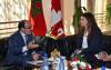 العماري يستقبل سفيرة كندا لاطلاعها على فرص الاستثمار بجهة الشمال
