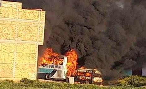 الحسيمة.. 20 سنة سجنا لمتهم بإحراق مبنى الشرطة قرب امزورن