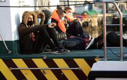 انقاذ 7 مهاجرين من الحسيمة بعد ليلة عصيبة قضوها في عرض البحر
