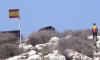 الجيش الاسباني يشرع في تشييد ابراج مراقبة على صخرتي اسفيحة المحتلتين
