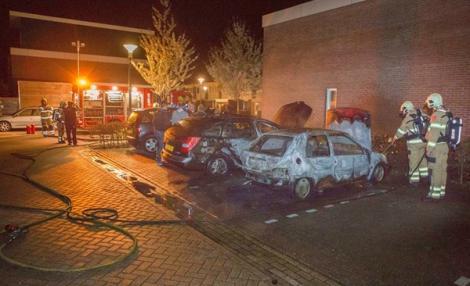 هولندا.. عشرات الشبان المغاربة يتورطون في أعمال شغب وحرق السيارات (فيديو)